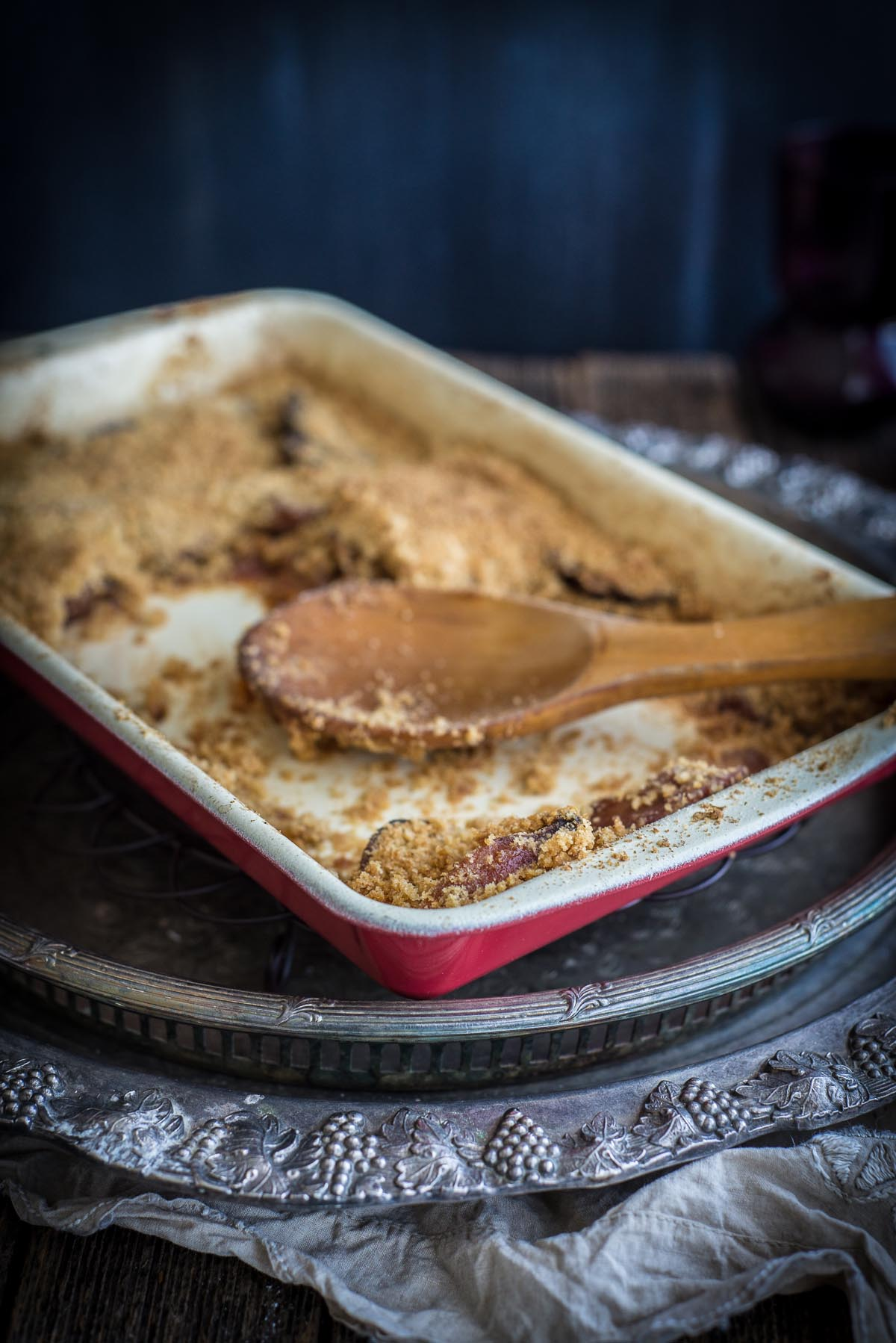 Quince Crumble