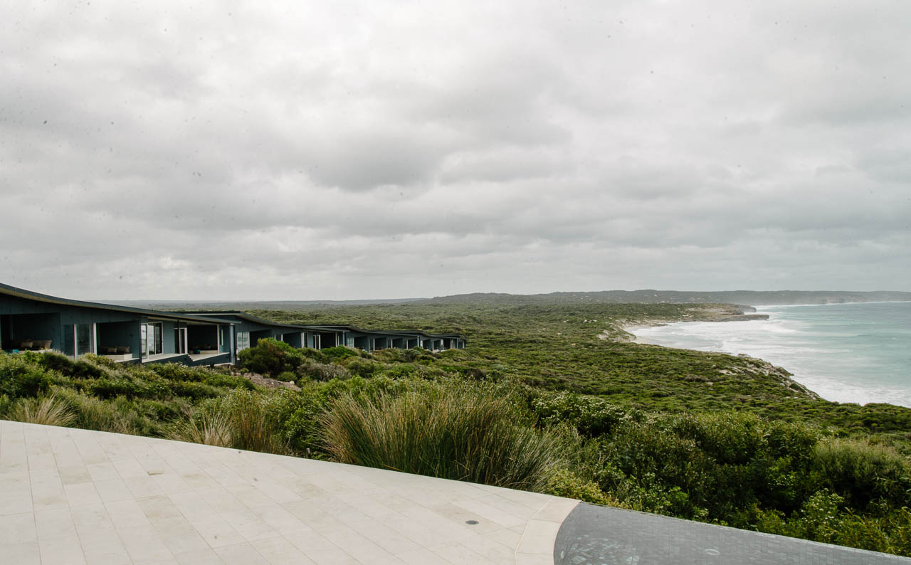 Souther Ocean Lodge lookout, Kangaroo Island