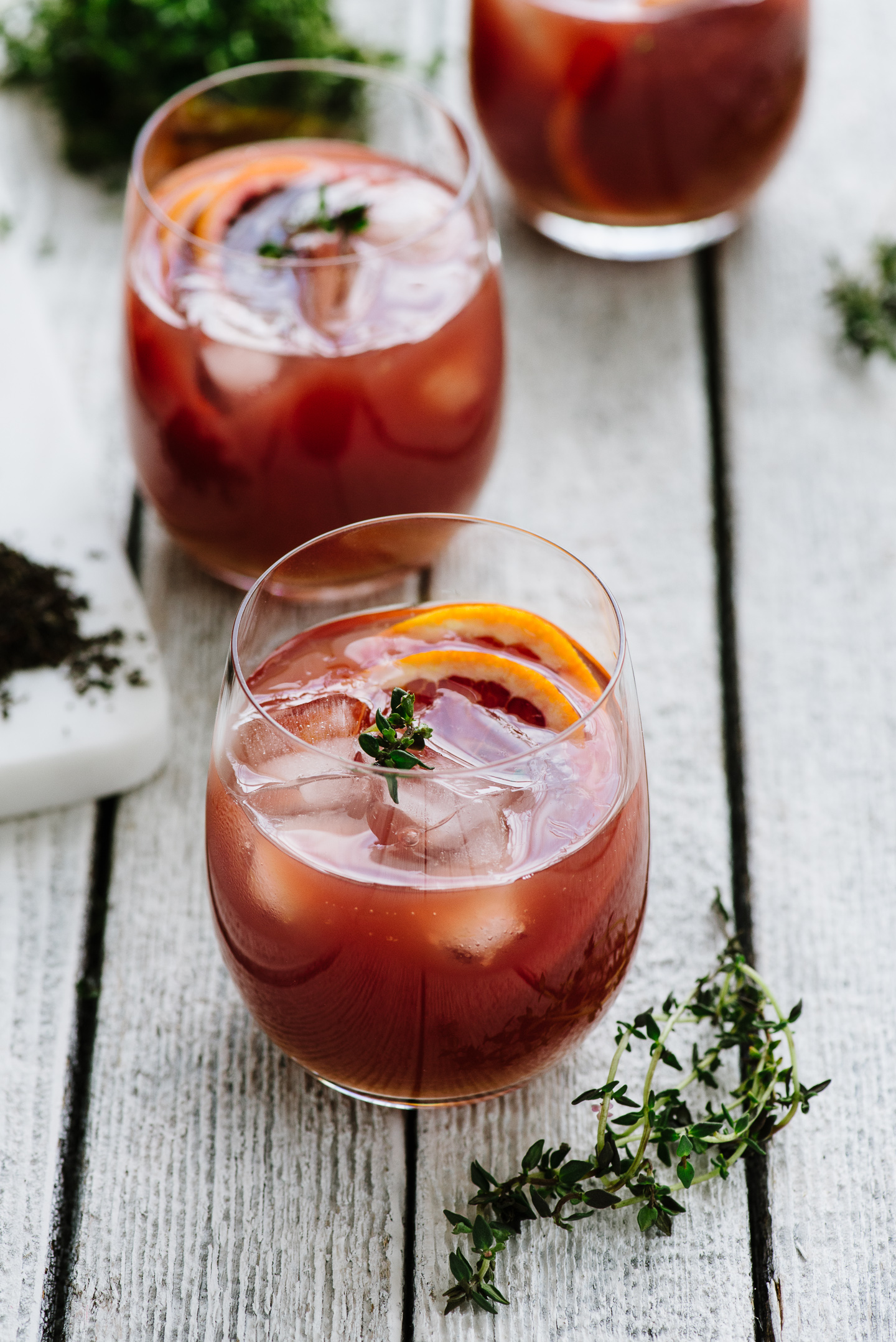 Spiked Blood Orange Tea (Dilmah Evening Tea remix) | The Hungry ...