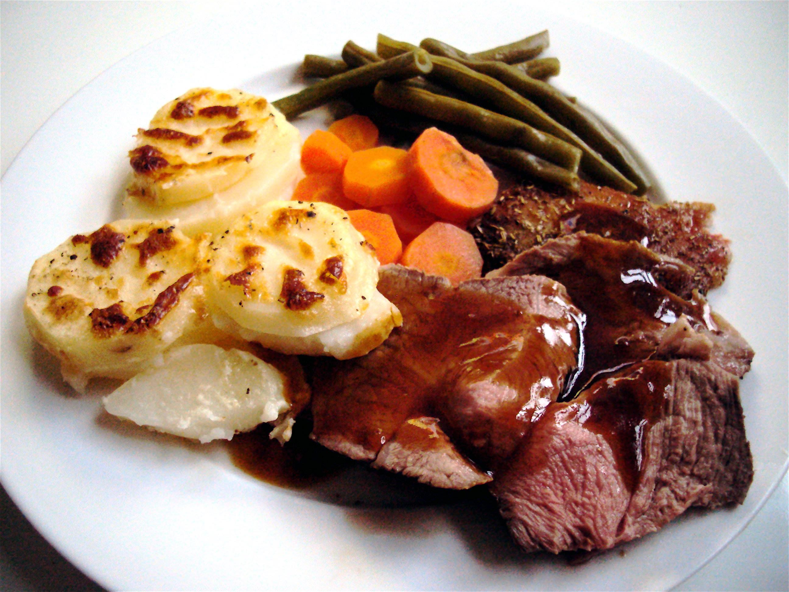 Rosemary Lamb Roast wi...