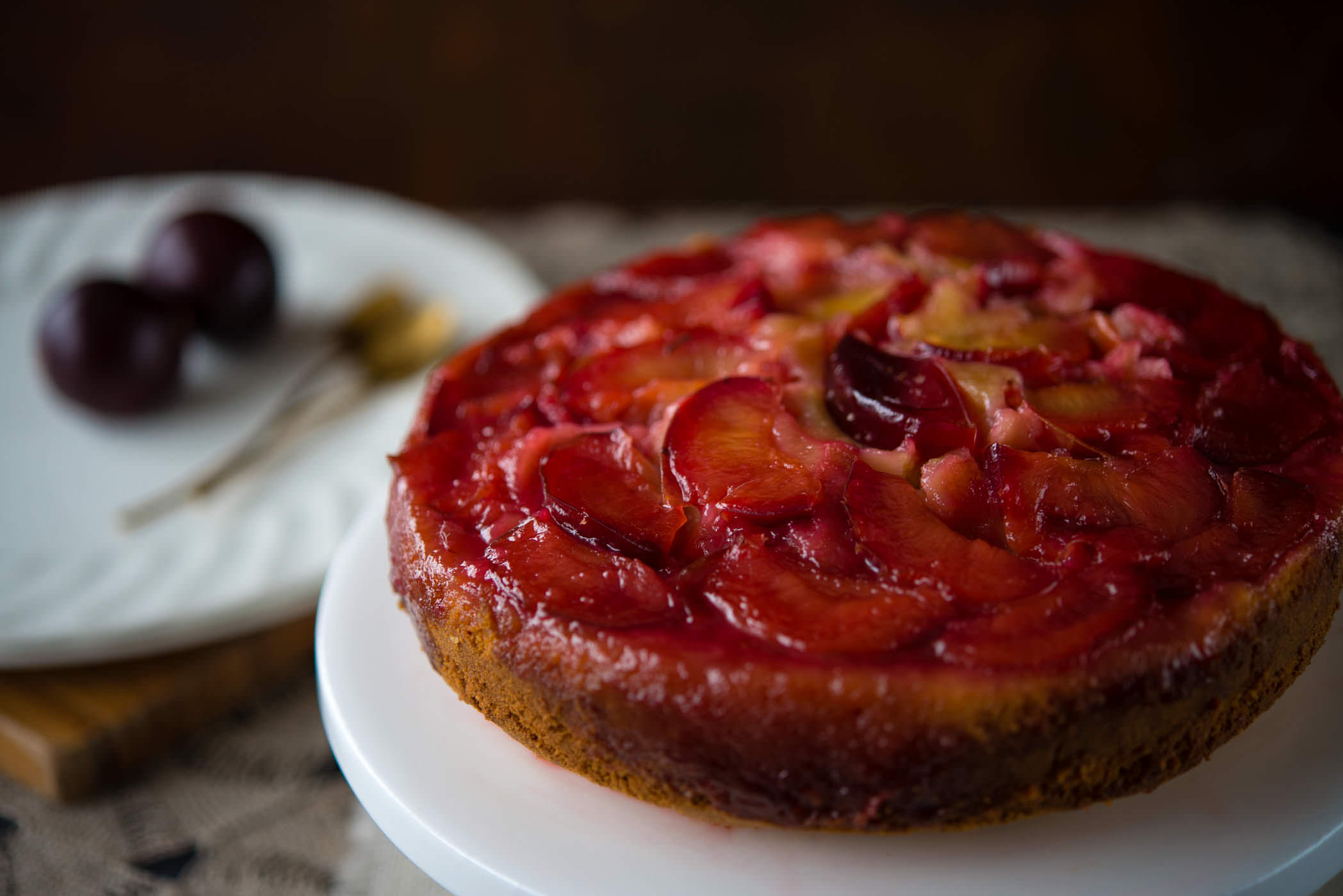 ... Anne of Green Gables + Upside Down Plum Cake | The Hungry Australian