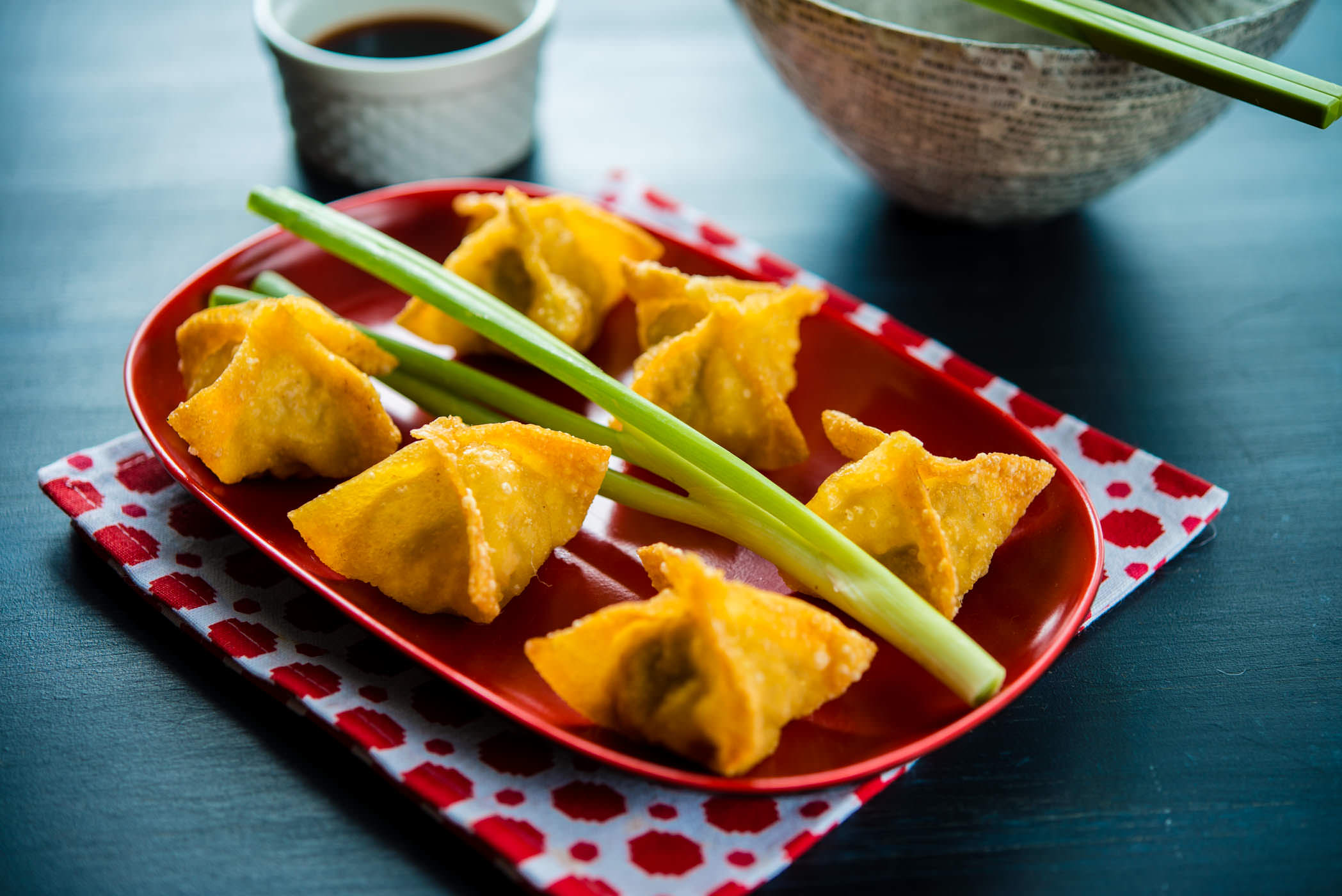 Easy chinese appetizer the hungry australian fried wontons forumfinder Choice Image