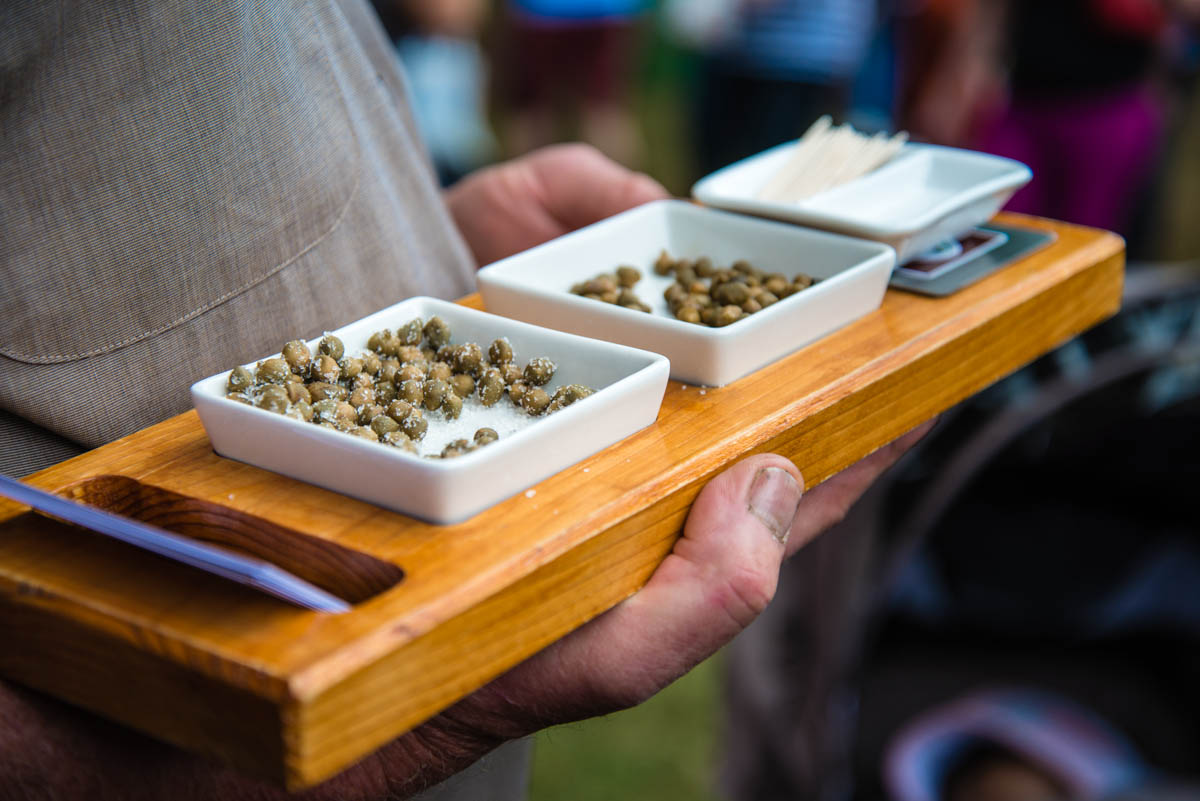 Capers at South Bank's Regional Flavours, Brisbane