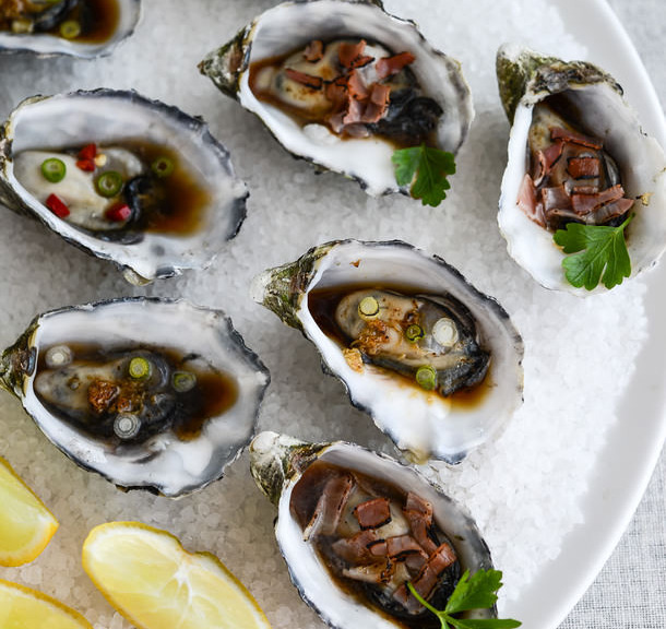 Asian oyster recipe