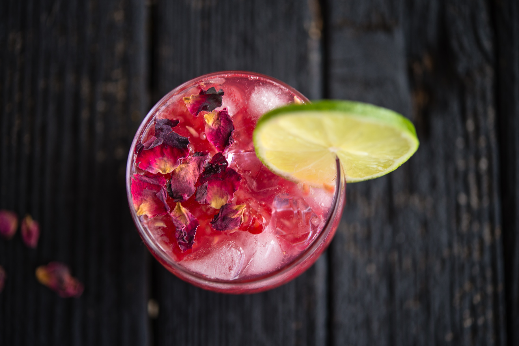Raspberry Rose Gin and Tonic - The Hungry Australian